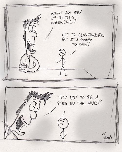 Stick Man Goes to Glastonbury [2009]