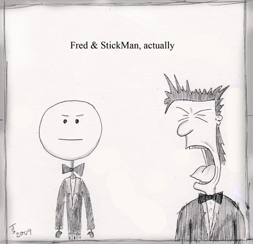 Fred & StickMan pay homage to the Pet Shop Boys' album 'actually'