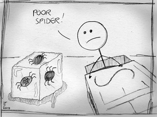 Frozen Spider, Part One