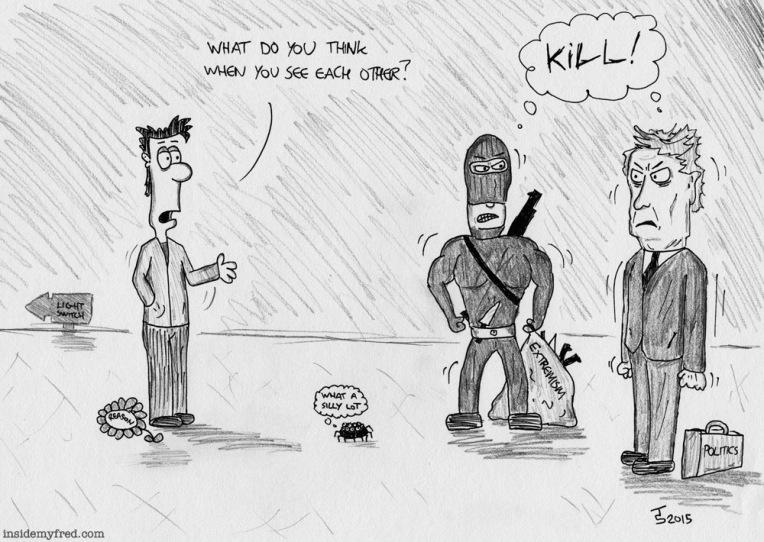 #JeSuisCharlie #extremism #politics #extremists #reason #war #spiders Je Suis Charlie