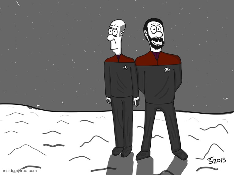 Picard & Riker