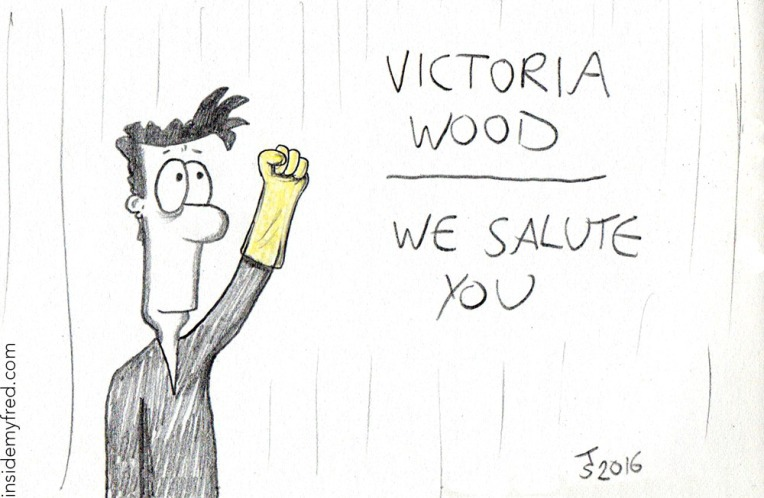 Victoria Wood - we salute you