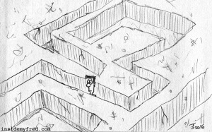 Missing In A Maze
